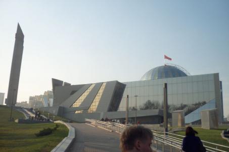 Слушатели подготовительного отделения посетили Белорусский государственный музей истории Великой Отечественной войны